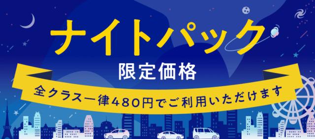 ナイトパク480円